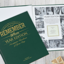 Birthdate & Year Edition Newspaper Book